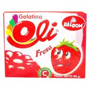 DAC - Baldom Gelatina Fresa - 85g