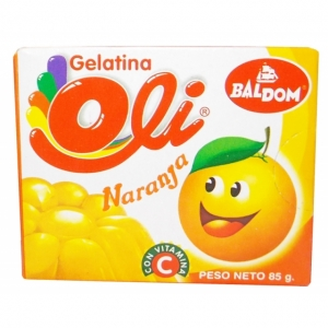 DAD - Baldom Gelatina Naranja - 85g