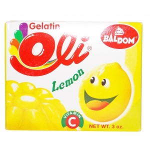DAH - Baldom Gelatina Lemon - 85g