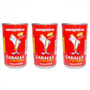 AAA - Caballa en Salsa de Tomate - 155g