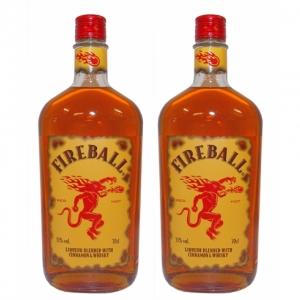 AAA - FIREBALL LIKÖR mit Zimt und Whiskey 33% - 700ml