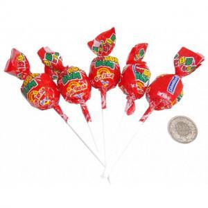 BAC - 5 x Lollipop Fresa mit Gum 20g